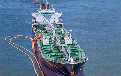 LOOP Services Tanker Offloading Ship